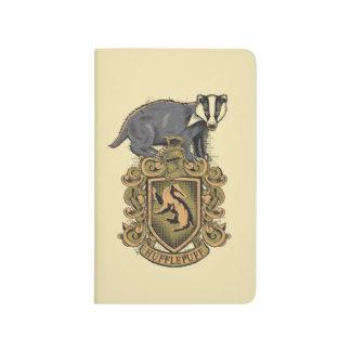 Escudo de HUFFLEPUFF™ Cuadernos