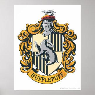 Escudo de Hufflepuff Poster