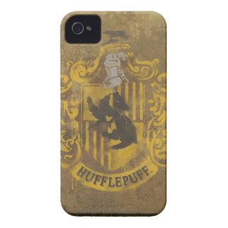 Escudo de Hufflepuff pintado iPhone 4 Coberturas
