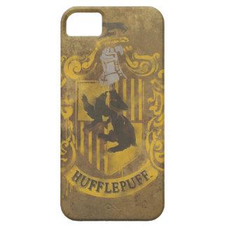 Escudo de Hufflepuff pintado iPhone 5 Carcasa
