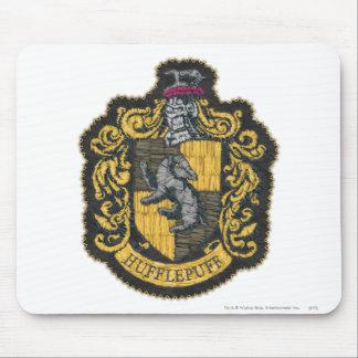 Escudo de Hufflepuff Tapetes De Raton