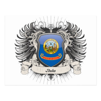 Escudo de Idaho Tarjetas Postales