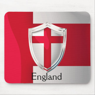 Escudo de Inglaterra Tapetes De Ratones