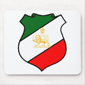 Escudo de Irán Tapetes De Ratones