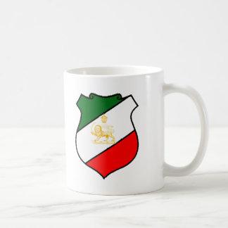Escudo de Irán Tazas