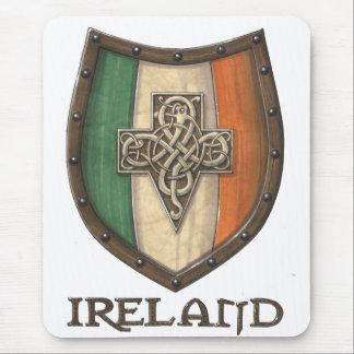 Escudo de Irlanda Tapetes De Ratones