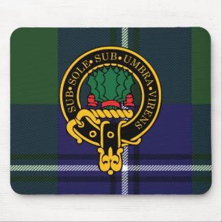 Escudo de Irvine y cojín de ratón escoceses del ta