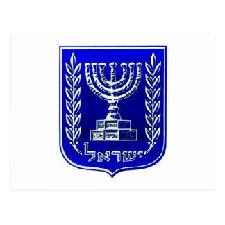 Escudo de Israel Postales