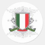 Escudo de Italia Pegatina