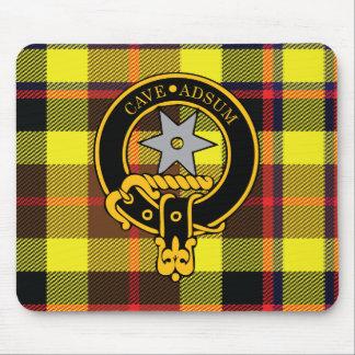 Escudo de Jardine y cojín de ratón escoceses del t Tapete De Ratones