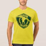 Escudo de Jiu-Jitsu del brasilen@o Camiseta