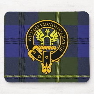 Escudo de Johnstone y cojín de ratón escoceses del Mousepad