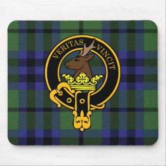 Escudo de Keith y cojín de ratón escoceses del tar Tapetes De Raton