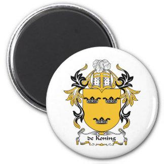 escudo de Koning Family Imanes De Nevera