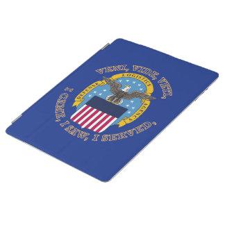 Escudo de la agencia de logística de defensa cover de iPad
