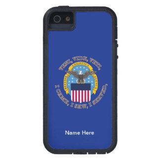 Escudo de la agencia de logística de defensa iPhone 5 Case-Mate cárcasas