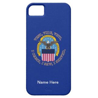Escudo de la agencia de logística de defensa iPhone 5 Case-Mate protector