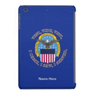 Escudo de la agencia de logística de defensa funda de iPad mini