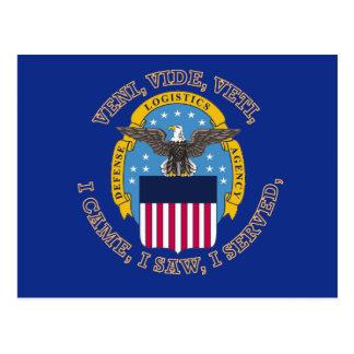 Escudo de la agencia de logística de defensa postales