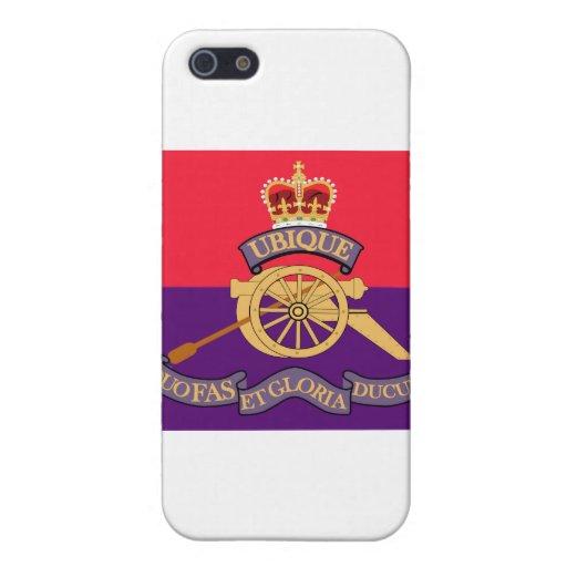 Escudo de la artillería de campaña de Nuevo Brunsw iPhone 5 Fundas