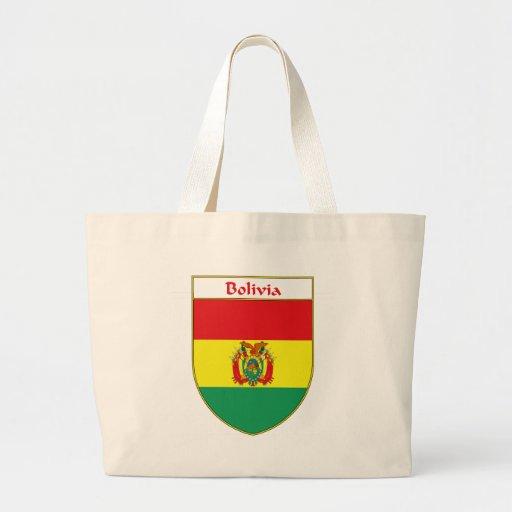Escudo de la bandera de Bolivia Bolsa Tela Grande
