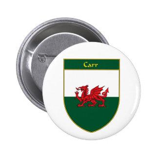 Escudo de la bandera de Carr Galés Pin