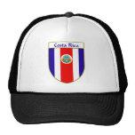 Escudo de la bandera de Costa Rica Gorros Bordados