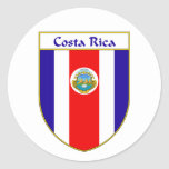 Escudo de la bandera de Costa Rica Pegatina