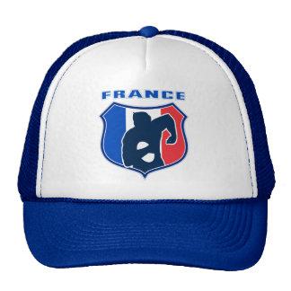 escudo de la bandera de Francia del francés del ju Gorro De Camionero