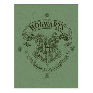 Escudo de la bandera de HOGWARTS™ Postal