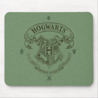 Escudo de la bandera de HOGWARTS™ Tapete De Ratones