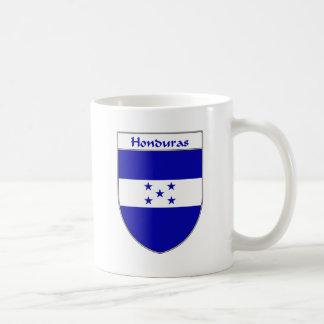 Escudo de la bandera de Honduras Taza Básica Blanca