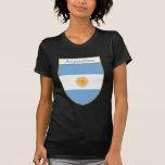 Escudo de la bandera de la Argentina Camiseta