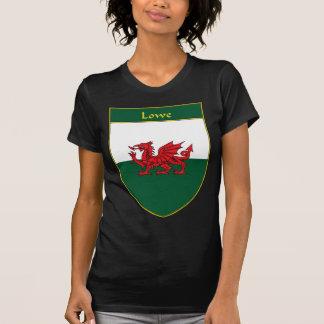 Escudo de la bandera de Lowe Galés Camiseta
