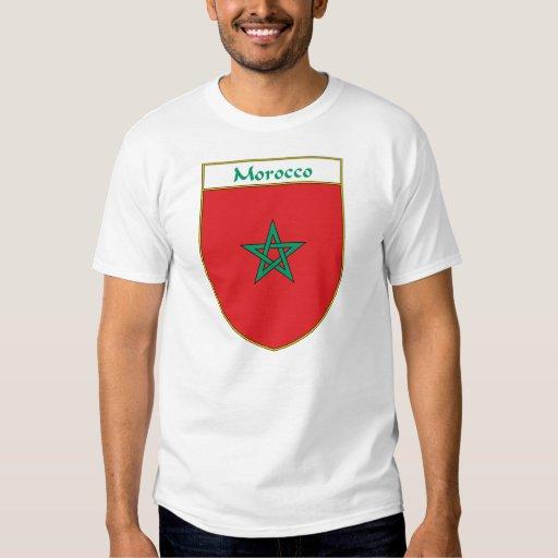 Escudo de la bandera de Marruecos Remera