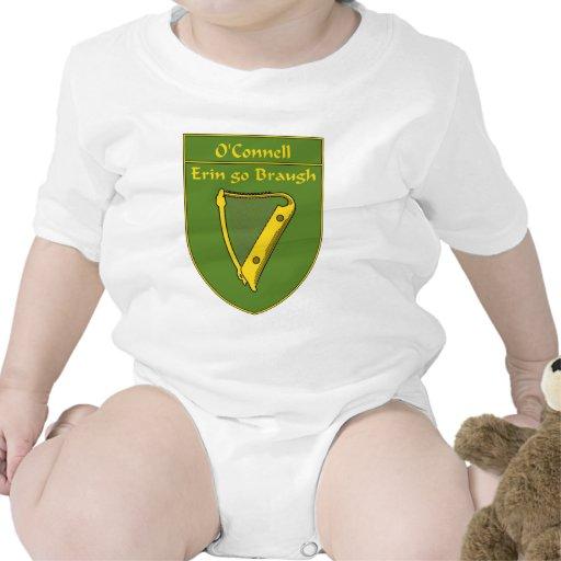 Escudo de la bandera de O'Connell 1798 Trajes De Bebé