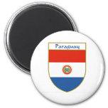 Escudo de la bandera de Paraguay Imán