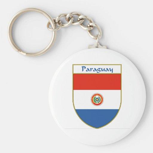 Escudo de la bandera de Paraguay Llavero