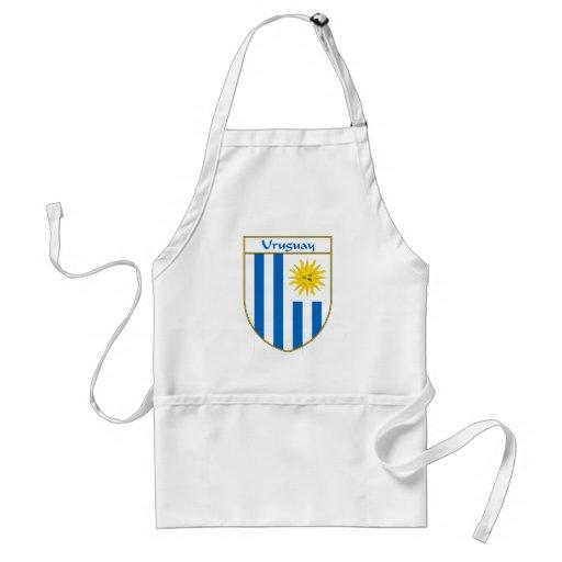 Escudo de la bandera de Uruguay Delantal