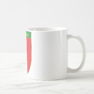 Escudo de la bandera de Villarreal México Taza De Café