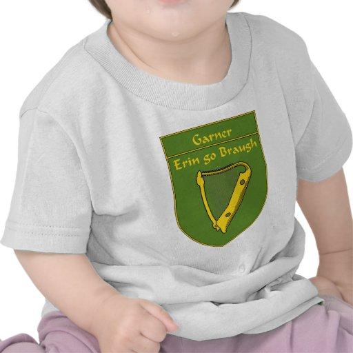 Escudo de la bandera del Garner 1798 Camisetas