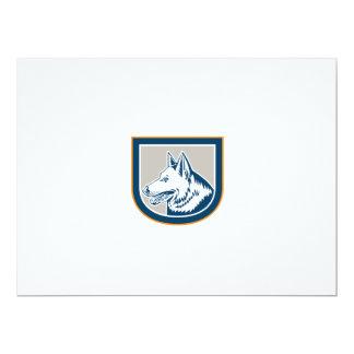 Escudo de la cabeza de perro de pastor alemán anuncios