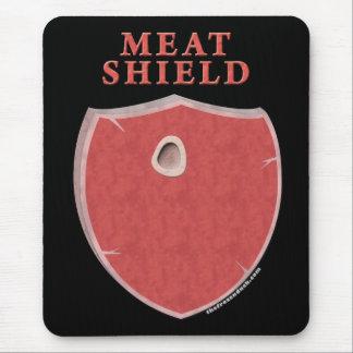 Escudo de la carne alfombrillas de ratones