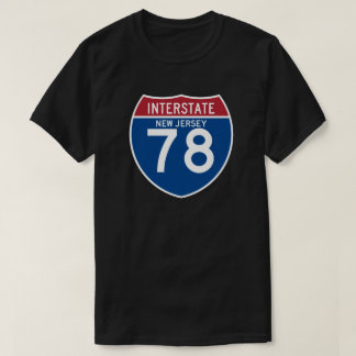 Escudo de la carretera nacional de New Jersey NJ