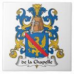 escudo de la Chapelle Family Azulejos