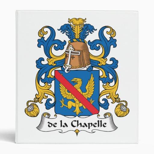 "escudo de la Chapelle Family Carpeta 1"""
