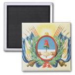 Escudo de la confederación de la Argentina Imán