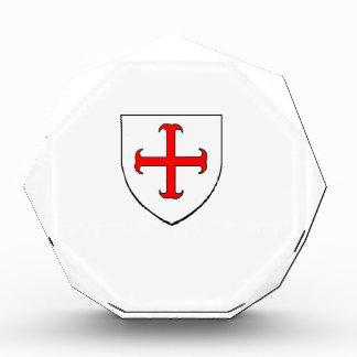 Escudo de la cruzada de Templar de los caballeros