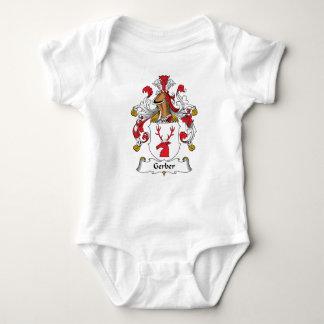 Escudo de la familia body para bebé