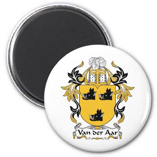 Escudo de la familia de Aar del der de Van Iman De Nevera
